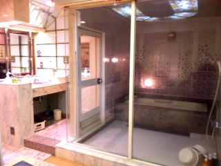 スケスケ風呂